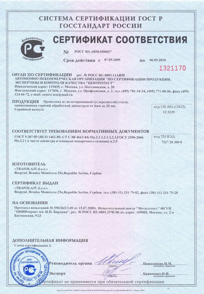 Перечень сертификатов гост р получение сертификата исо 9001 в краснодаре